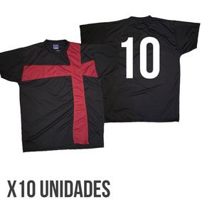 da50b6fe80800 Juego 10 Camiseta Numerada - Camisetas de Adultos en Mercado Libre ...