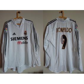 a96b7de0e1d00 Camiseta Del Real Madrid Manga Larga - Camisetas de Clubes ...
