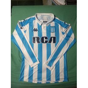 fa83800222bf8 Camiseta De Racing Manga Larga Kappa - Fútbol en Mercado Libre Argentina