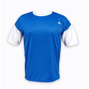 1e7025f003dad Camiseta Futbol Verde Amarilla - Camisetas de Adultos Azul en ...