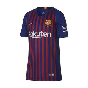 cb64bfaeafe7d Camiseta Barcelona Niños Futbol Camisetas - Fútbol en Mercado Libre  Argentina