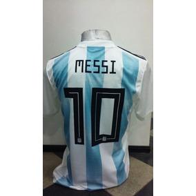6781eebe92e90 Camiseta Adidas Titular 10 Messi Seleccion Argentina - Fútbol en Mercado  Libre Argentina