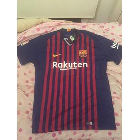 64739a49344ae Camiseta Original Barcelona 2018 - Camisetas de Clubes Extranjeros ...