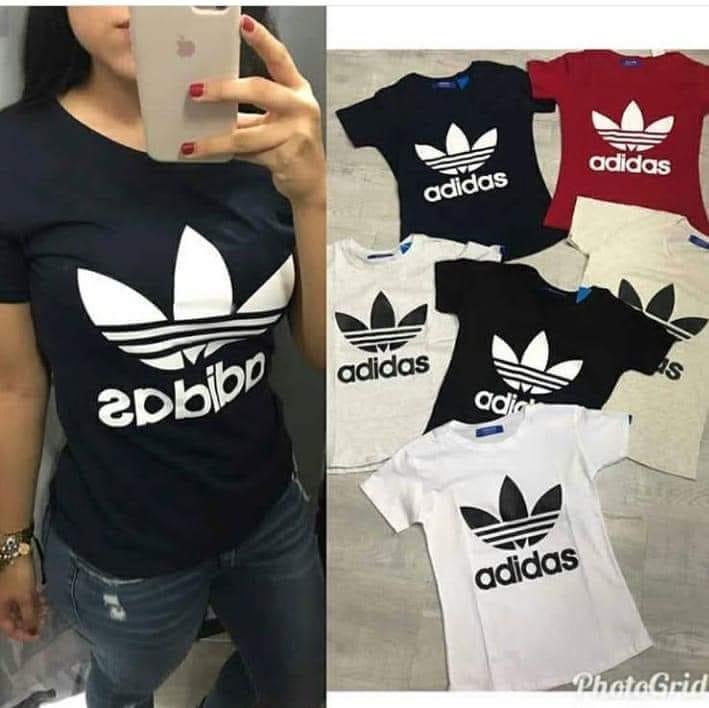 camisetas adidas para mujer