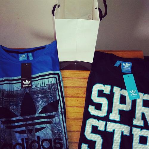 camisetas adidas originals americanas y nuevas!!