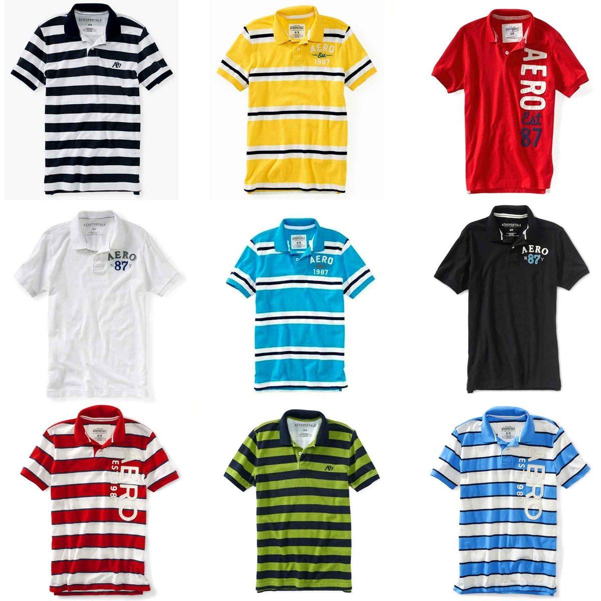 Camisetas Aeropostale - Vários Modelos E Tamanhos No Brasil - R  68 ... 4917b7390e248