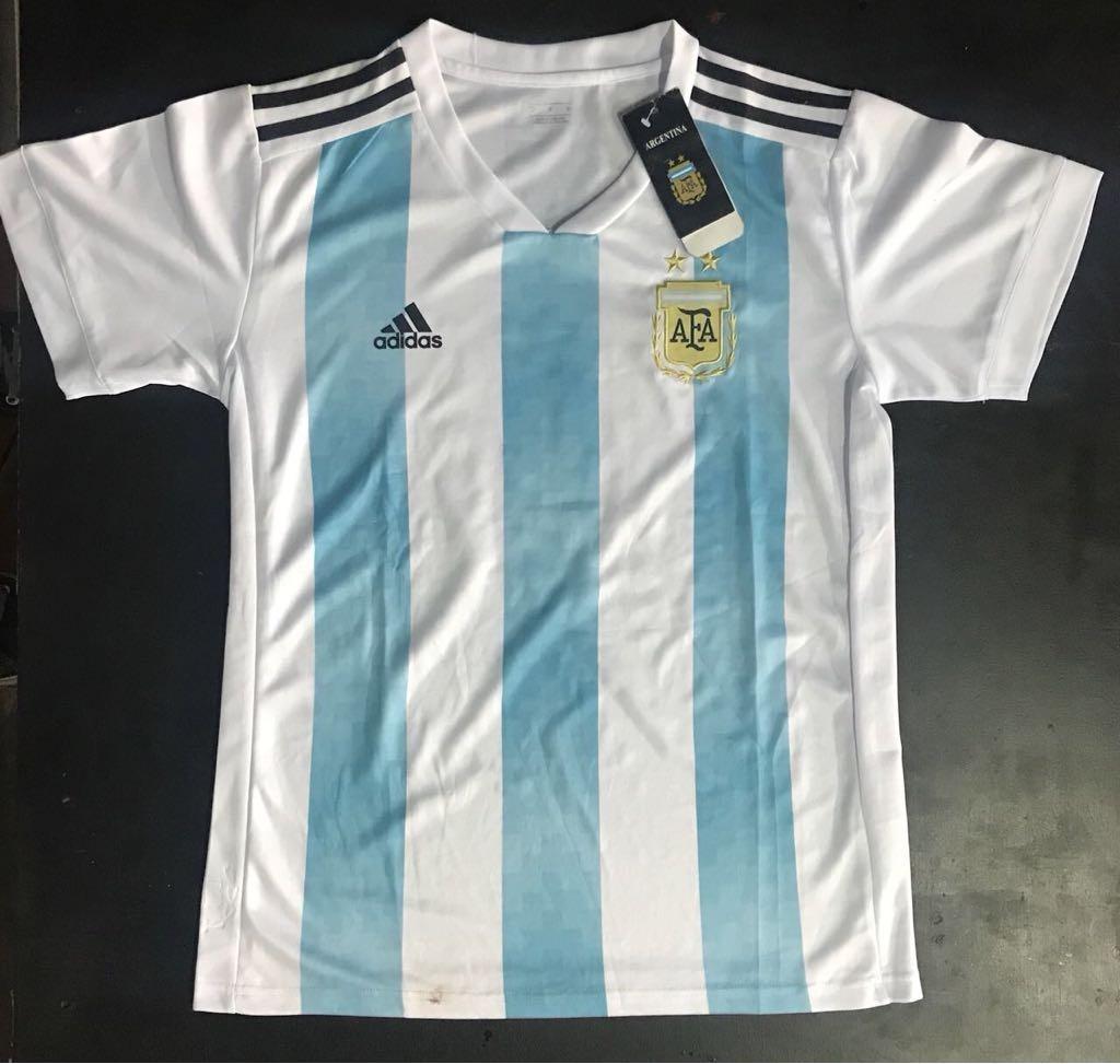 Pack X 5 Camisetas Argentina adidas Mundial Rusia 2018 Ofert ... e07afc512ba84