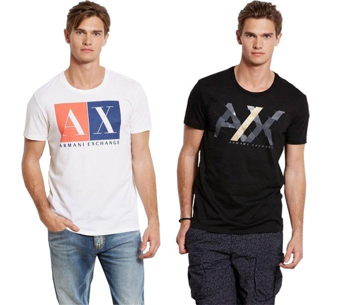 402816ae9f9 Camisetas Armani Exchange 100% Original - Pronta Entrega - R  104