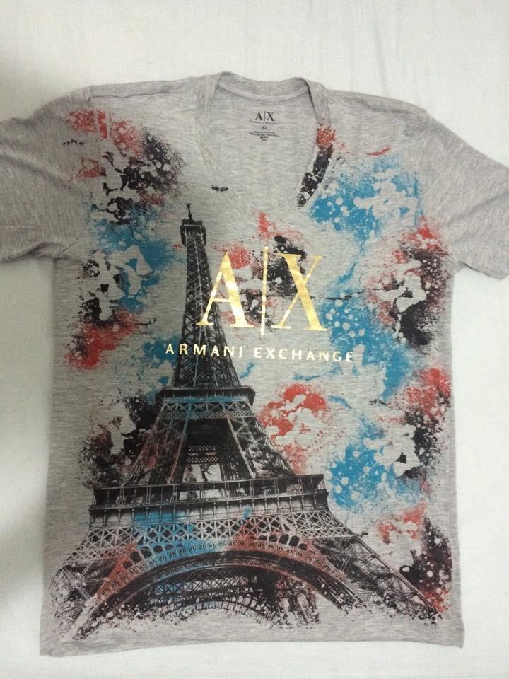 6ec17a3918 d8deae68770 camisa a x armani exchange origina ta a m ...