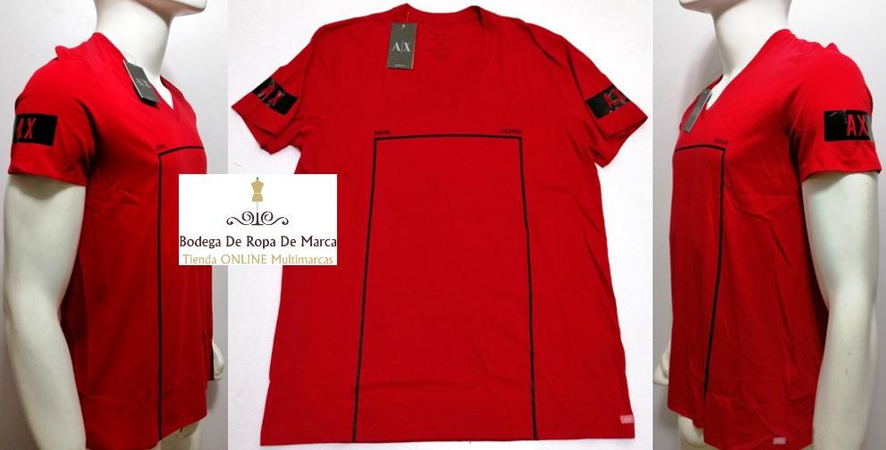 90256a152c86f camisetas armani exchange cuello v originales. Cargando zoom.