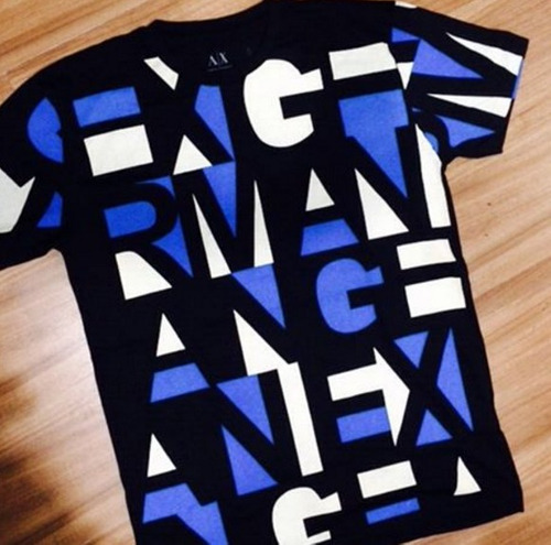 db8f46a4d2 500ad0bf2c1 Camisetas Armani Exchange Masculinas100% Original Kit Com 10 -  R ..