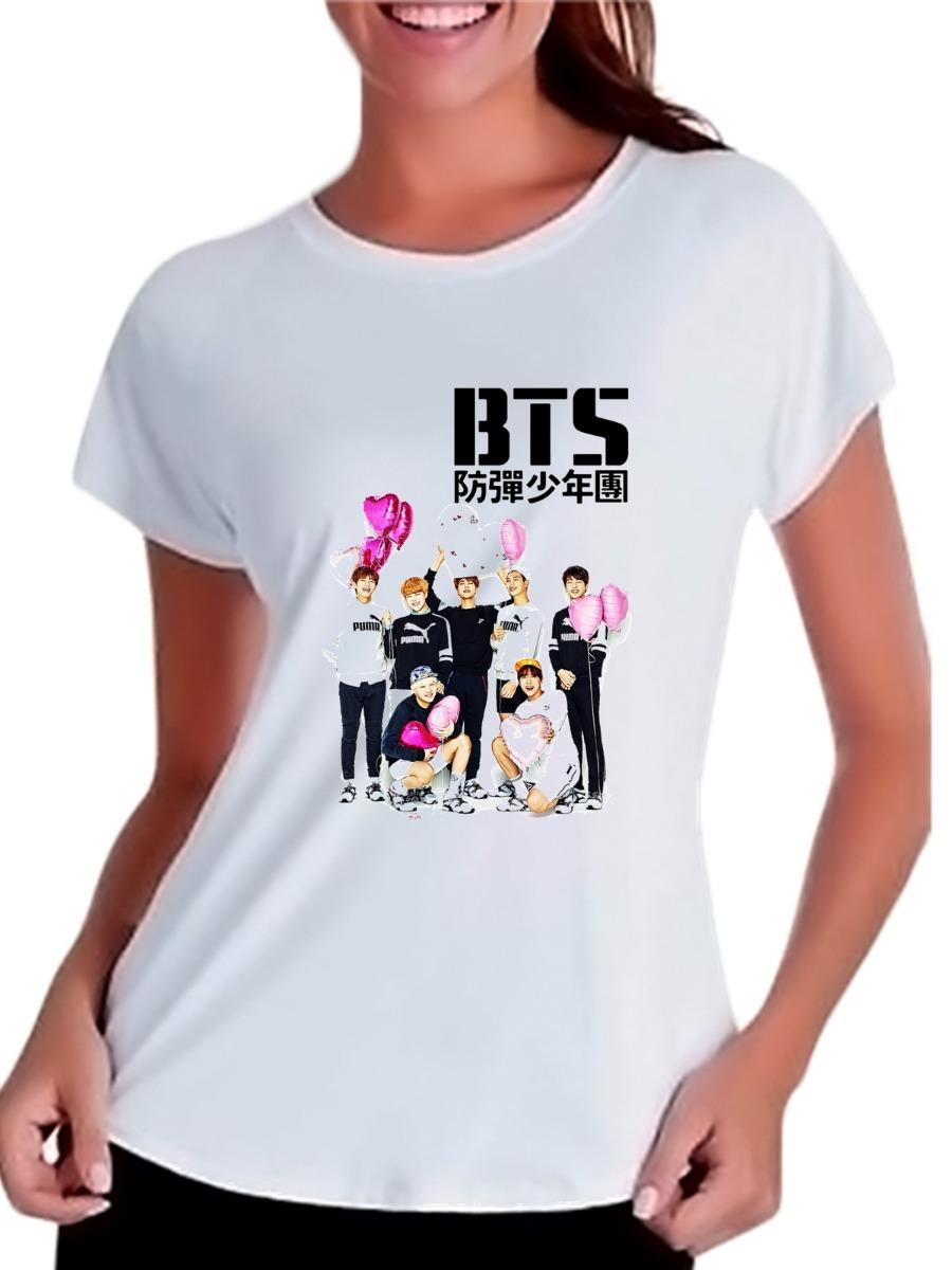 Camisetas Baby Look Kpop Bangtan Boys Bts Heart Integrantes - R  29 ... 78f3689bd42ae
