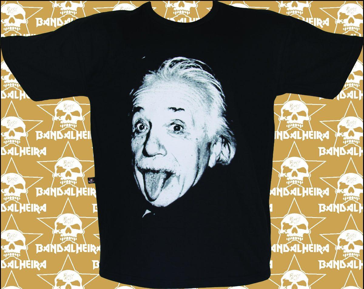 6eec61997 camisetas - bandas - rock bandalheira albert einstein 335. Carregando zoom.