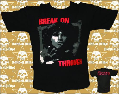 camisetas - bandas - rock  bandalheira jim morrison 303