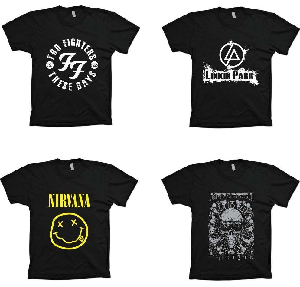 42706f9a41 Camisetas Bandas Rock - Guns N roses - 100% Algodão - R  25
