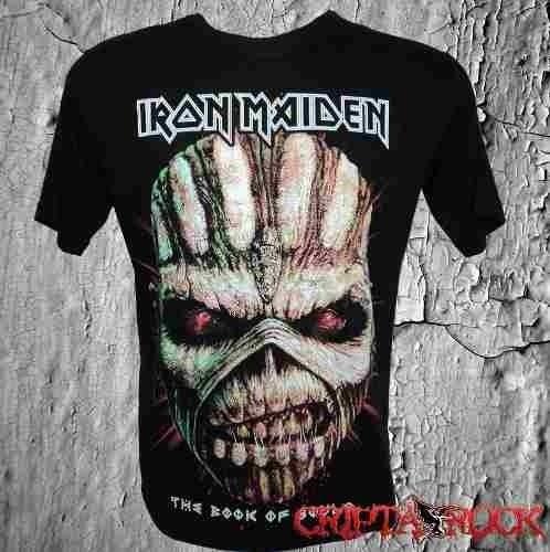 6bdfa5467 Camisetas Bandas Rock Metal Camisa Iron Maiden - R  50