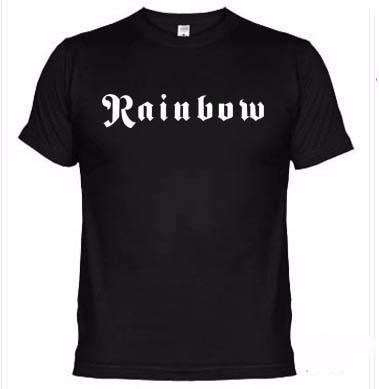 camisetas bandas rock rainbow 285