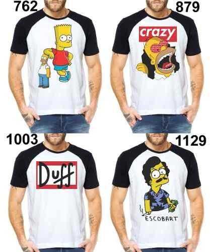 25a436afe224a Camisetas Bart Simpson Thug Life Swag Oversized Mcd 50 Cent - R  32 ...