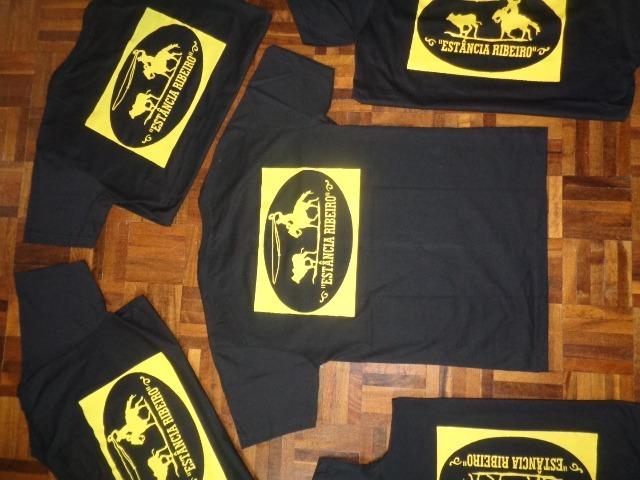 c43e42b5ece94f Camisetas Básicas Estampadas Com Serigrafia Ou Sublimação - R$ 140 ...