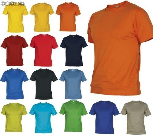 Camisetas Basicas Hombre Adulto Y Niño Unicolor Algodon -   18.900 ... 1b87c4109b1