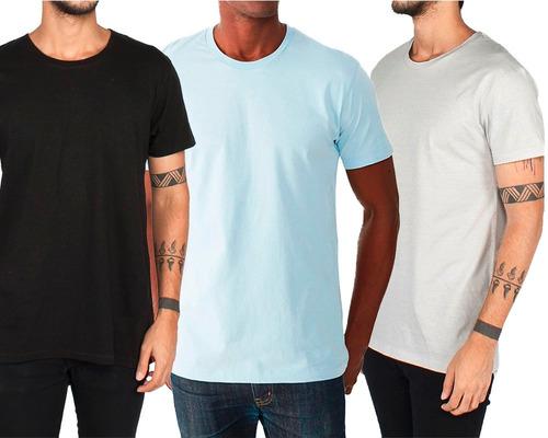 camisetas básicas sublimação 100% poliéster - várias cores