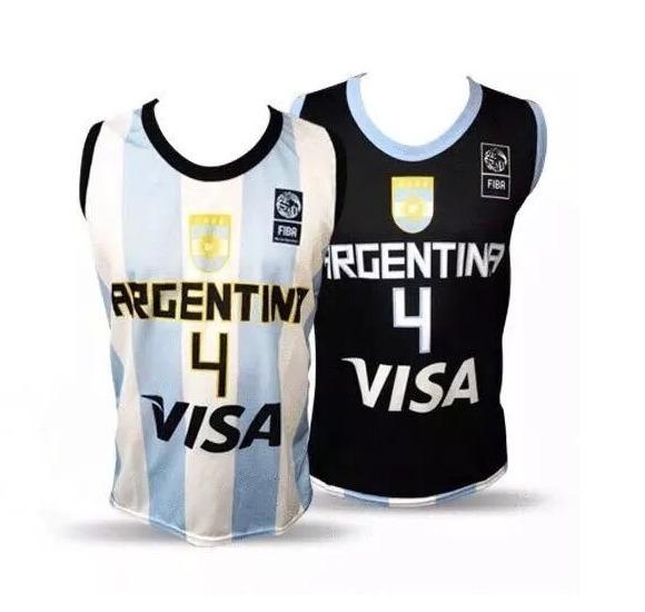 88db994bb32 Camisetas Basquet Adulto Niño Infantiles Basket Argentina -   200