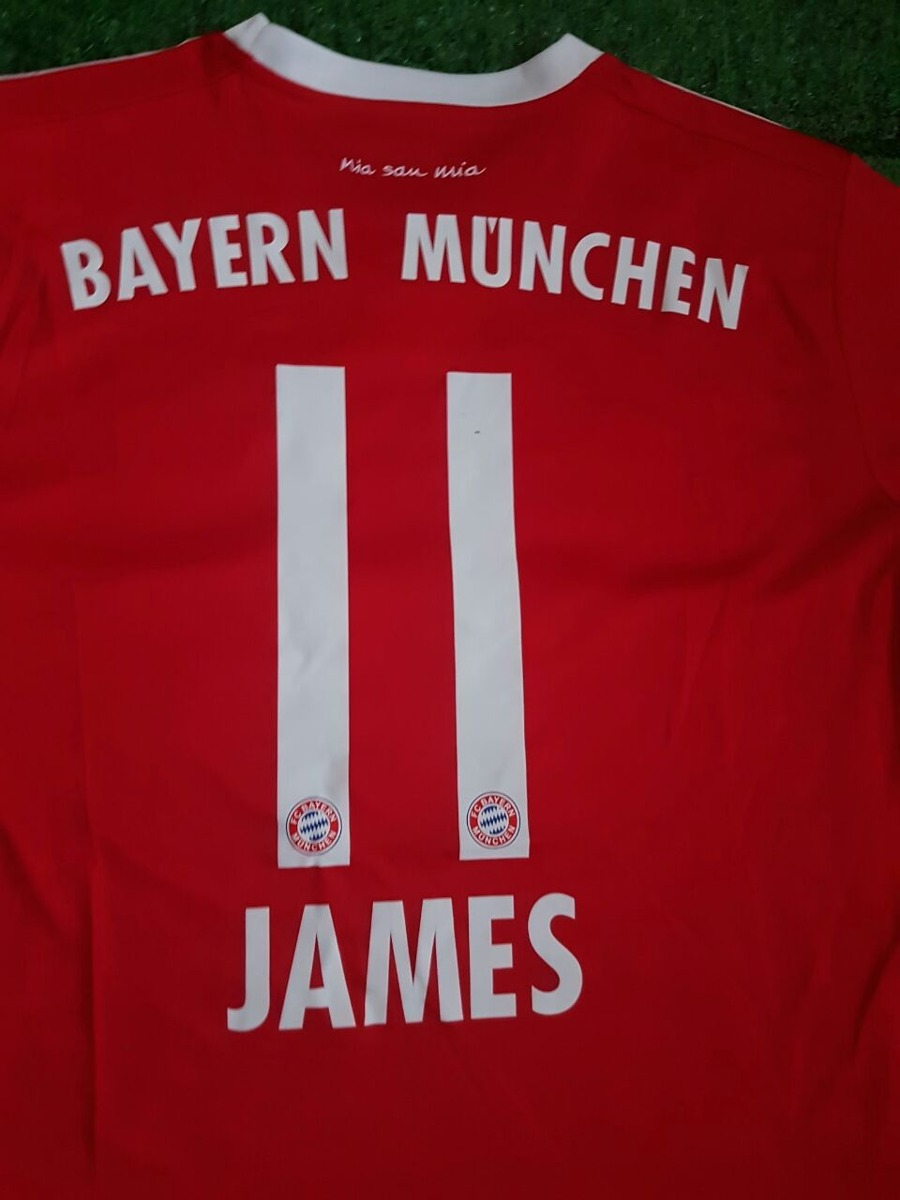 Camisetas Bayern Munich 2017 2018 James 11 -   97.000 en Mercado Libre 210230716852c