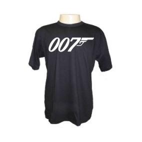 eb9a4039e Camisetas Divertidas 007 Filmes Seriados James Bond Camisa
