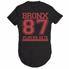 021946f9ea762 Camisa Camiseta Oversized Longline Swag Bronx 87 Hip Hop. 3 cores. R  49 90