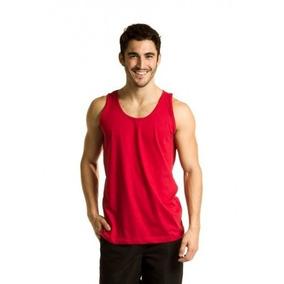 425c28652c939 Camiseta Regata Algodao Lisa - Camisetas no Mercado Livre Brasil