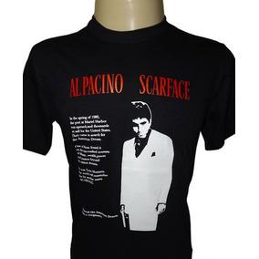 4ed0be621eb44 Camiseta Scarface Tony Montana Al Pacino Filme Tamanho M