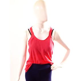 7cae481b43 Regata Feminina Basica Soltinha Com Renda Nas Costas - Camisetas e ...