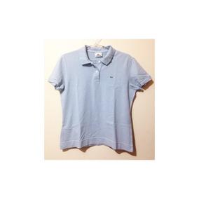 ec6ee0553f5b1 Polo Feminina Lacoste Azul Bebê Original - Calçados