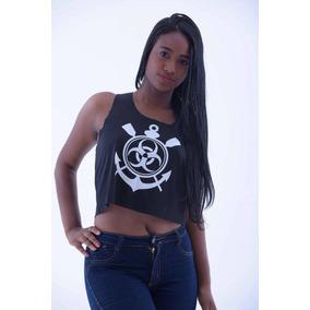 e34fb7894e432 Camisas De Resgate Socorrista - Cropped Regatas para Feminino no Mercado  Livre Brasil