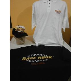 32daa212ee0ab Camisa Polo Race Rock + Moletom + Boné Race Rock Las Vegas