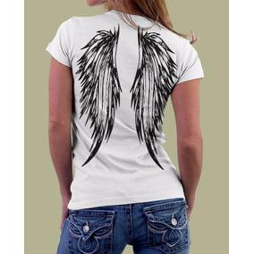 aa9390f0f Camiseta Asas - Camisetas Manga Curta no Mercado Livre Brasil