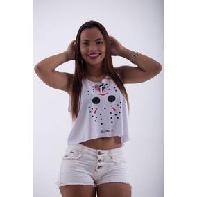 46b9e3d925df5 Camisa Polo Dalcelis M - Cropped Regatas para Feminino no Mercado ...