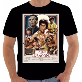 c28105090 Camiseta Poster Original Enter The Dragon Bruce Lee Operação