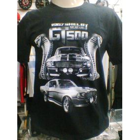 0c46c2996 Camiseta Mustang G T 500 1967 Shelby