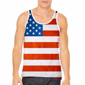 90a98f2f75ba6 Regata Estados Unidos - Camisetas e Blusas para Masculino no Mercado ...