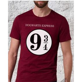 921d5c775 Camiseta Harry Potter 9 E 3 4 - Camisetas Manga Curta no Mercado ...