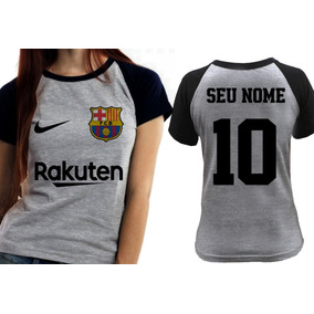 afa8b15b5b0bf Squeeze Personalizado Barcelona - Camisetas e Blusas para Feminino ...