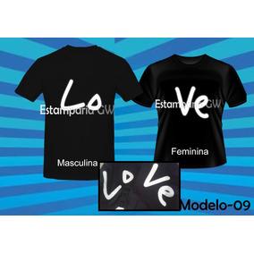 1ec25d416 Camiseta Casal Namorado Tamanho Gg - Camisetas Manga Curta em ...