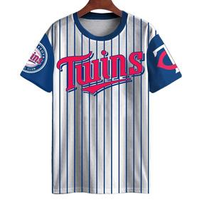 26b9bfea9 Camiseta Baseball Minnesota Rosario 20 Major League 2018