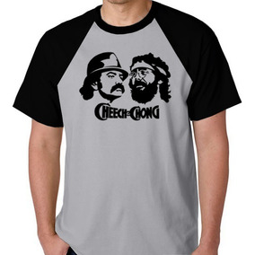 77aa48f07 Camiseta Cheech And Chong - Camisetas Manga Curta para Masculino no Mercado  Livre Brasil