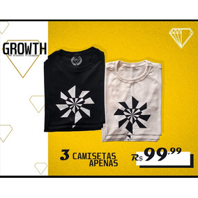 6660d78b6 Camiseta Growth Supplements - Calçados