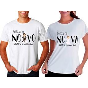 56c29d8fc Camiseta Noiva Do Ano - Camisetas Manga Curta no Mercado Livre Brasil