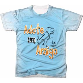 b1c7059a634e4 Camiseta Adotei Luisa Mell - Camisetas e Blusas Manga Curta para ...