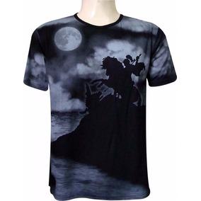 edad5590c Camiseta Indiana São Jorge Noturno Viscose Preto. R  60