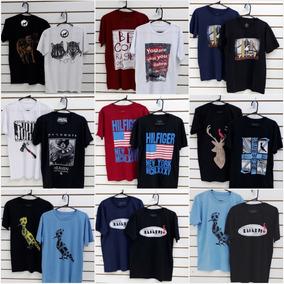 7bfd47c5593a4 Kit 10 Camisetas Camisas Masculinas Baratas Marcas